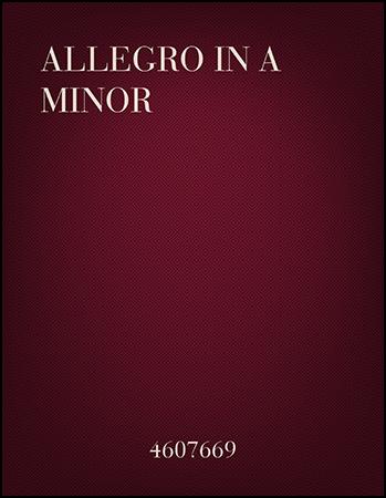 Allegro in A Minor