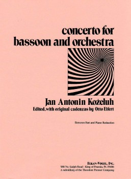 Concerto for Bassoon-Bssn Solo