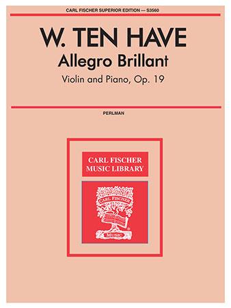 Allegro Brillant-Violin Solo