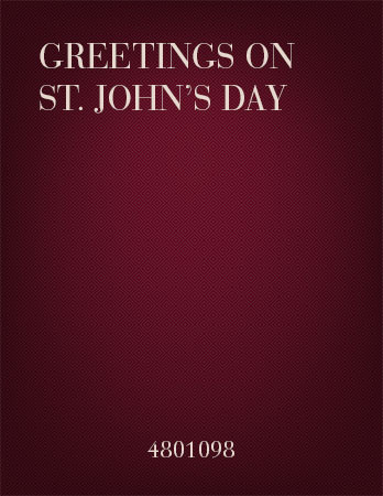 Greetings on Saint John's Day