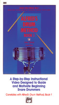 Alfred's Drum Method, Book 1 Cover