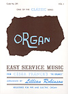 Easy Service Music No. 1-Organ
