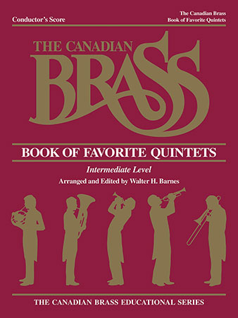The Canadian Brass Book of Favorite Quintets brass sheet music cover
