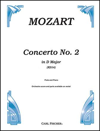Concerto in D Major No. 2, K. 314