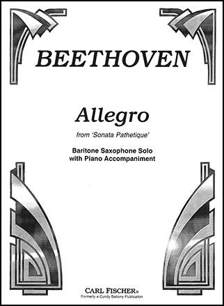 Allegro from Sonata Pathet-Bari Sax