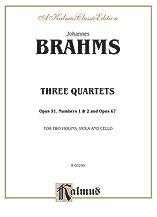 Three String Quartets, Op. 51