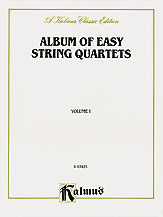 Album of Easy String Quartets No. 1