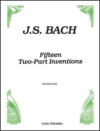 15 Two Part Inventions-Flute Duet