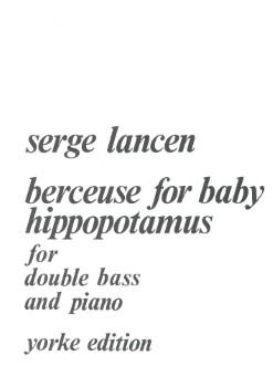 Berceuse for Baby Hippopotam-Str Bs