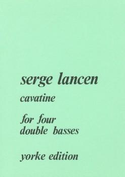 Cavatine-String Bass Quartet