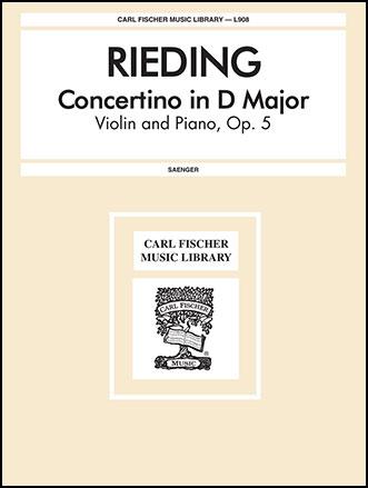 Concertino Op. 5-Violin Solo