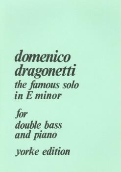 Famous Solo in E minor