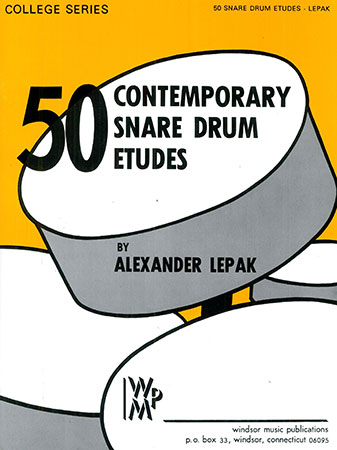50 Contemporary Snare Drum Etudes