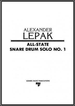 All State Snare Drum Solo No. 1