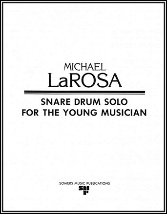 Snare Drum Solo for Young Musician