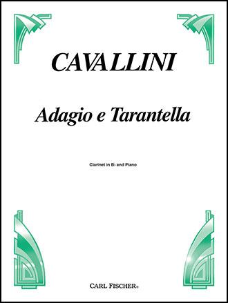 Adagio E Tarantella-Clarinet Solo