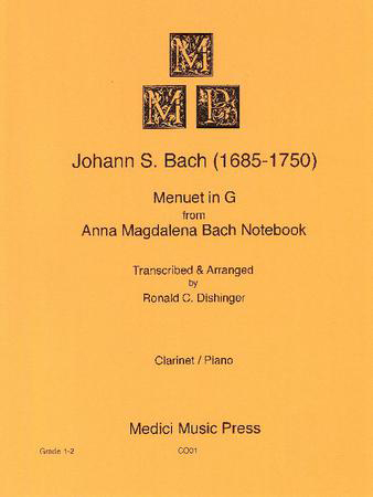 Menuet in G-Clarinet Solo