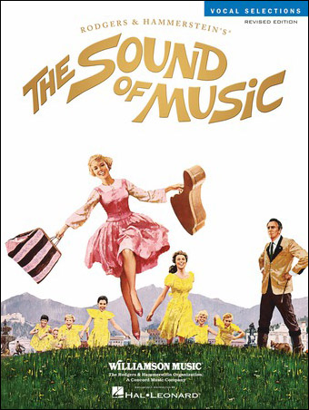 The Sound of Music vocal sheet music cover