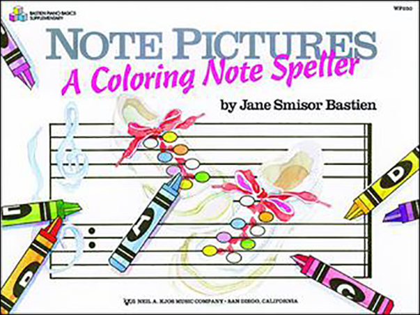 Note Pictures-Coloring Note Speller