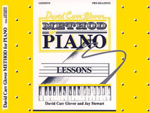 David Carr Glover Method for Piano