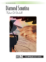 Diamond Sonatina-1 Piano 4 Hands
