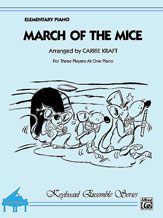 March of the Mice-1 Piano 6 Hands