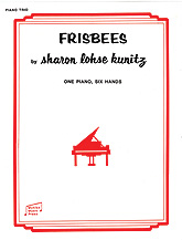 Frisbees-1 Piano 6 Hands