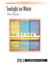 Sunlight on Water- 1 Piano 6 Hands