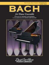 Bach for Piano Ensemble-2 Pa 8 Ha