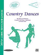 Country Dances-2 Pianos 8 Hands