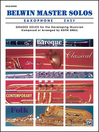 Belwin Master Solos for Saxophone