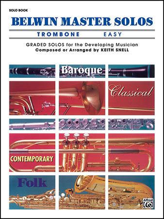 Belwin Master Solos for Trombone