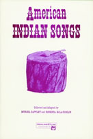 American Indian Songs-Book