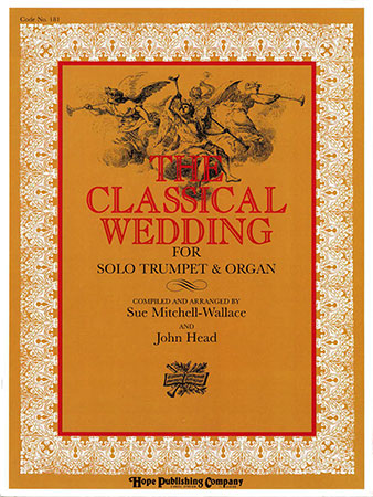 The Classical Wedding for Organ and Trumpet brass sheet music cover