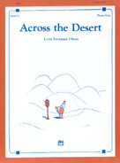 Across the Desert
