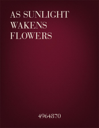 As Sunlight Wakens Flowers
