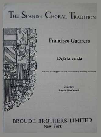 Dejo La Venda