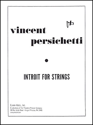 Introit for Strings