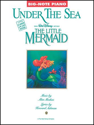 Under the Sea-Big Note Piano Solo