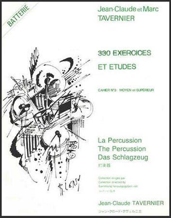 330 Exercises and Etudes-Drum Set S