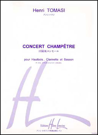 Concert Champetre-Woodwind Trio
