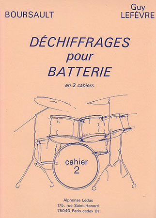 Dechiffrages pour Batterie, Book 2