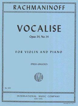 Vocalise, Op. 34 No. 14