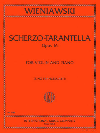 Scherzo Tarantelle, Op. 16