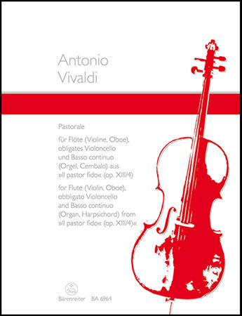 Pastorale in a Op. 13 No. 4-Flute/Vc/BC