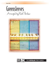 Greensleeves-1 Piano 6 Hands