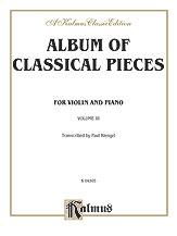 Album of Classical Pieces No. 3-Viola