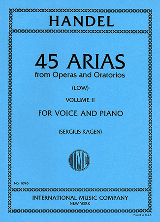 45 Arias from Operas and Oratorios No. 2