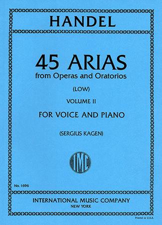 45 Arias from Operas and Oratorios No. 2