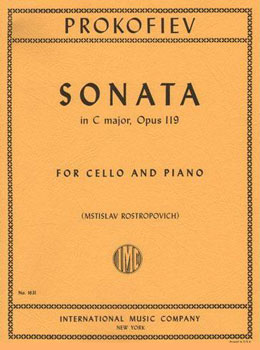 Cello and Piano Sonata in C Major, Op. 119